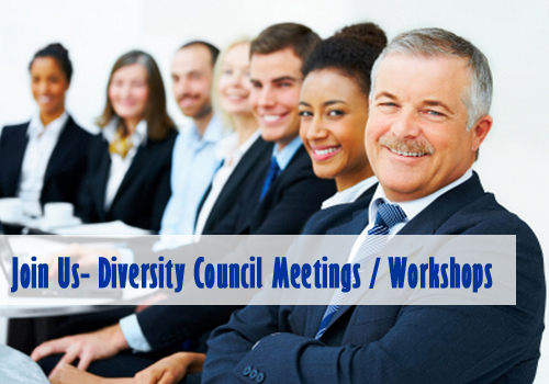 Join Us - Diversity Council Meetings/Workshops
