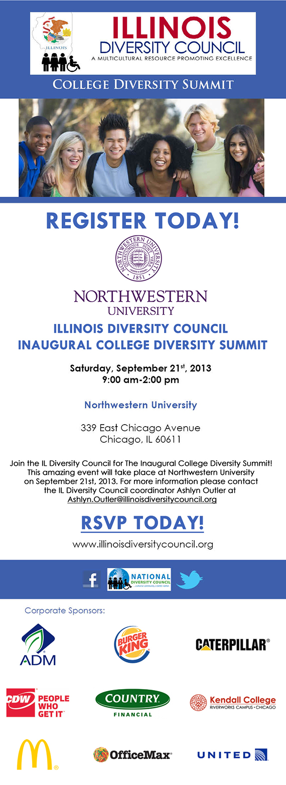 2013 Inaugural College Diversity Summit